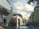 [安徽]民国老宅徽派古街巷道景观设计方案(附CAD总平面图+SU模型+实景图)