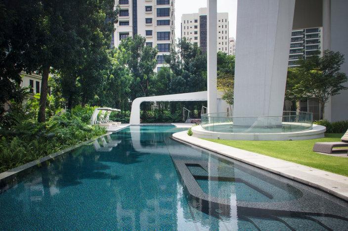 新加坡黄金地段的阿德莫住宅