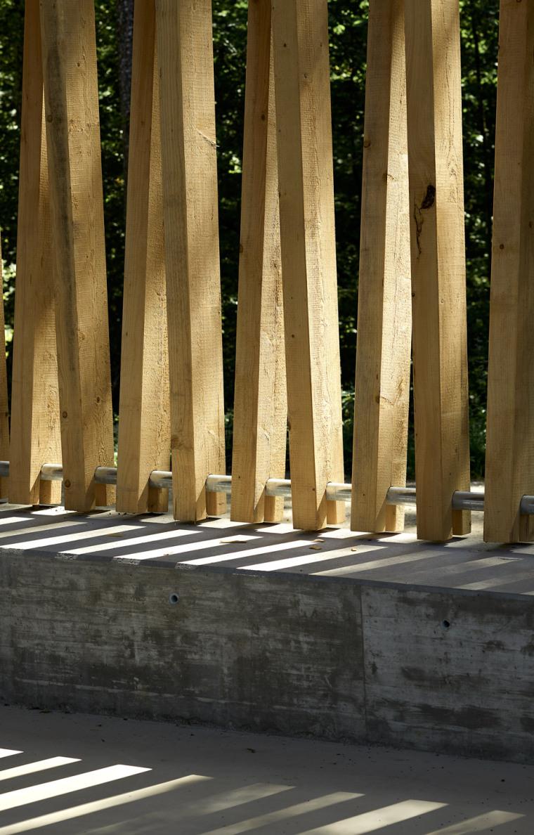 瑞士丛林木结构HolzkorporationDübendorf工厂-5