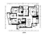 【福建】左海岸样板房设计施工图(含效果图)