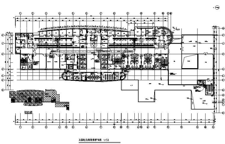 [重庆]高层人民医院空调通风系统设计施工图(洁净空调设计)