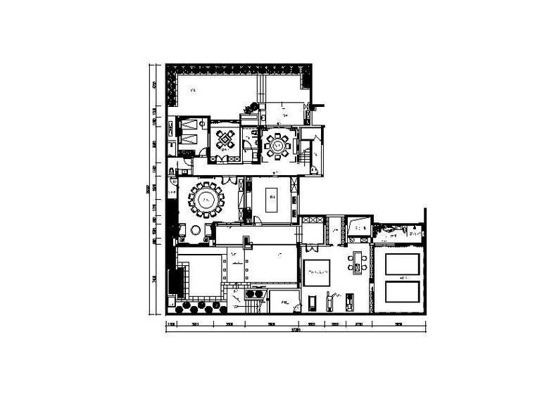 [南康]新中式雅致别墅设计施工图(含效果图)