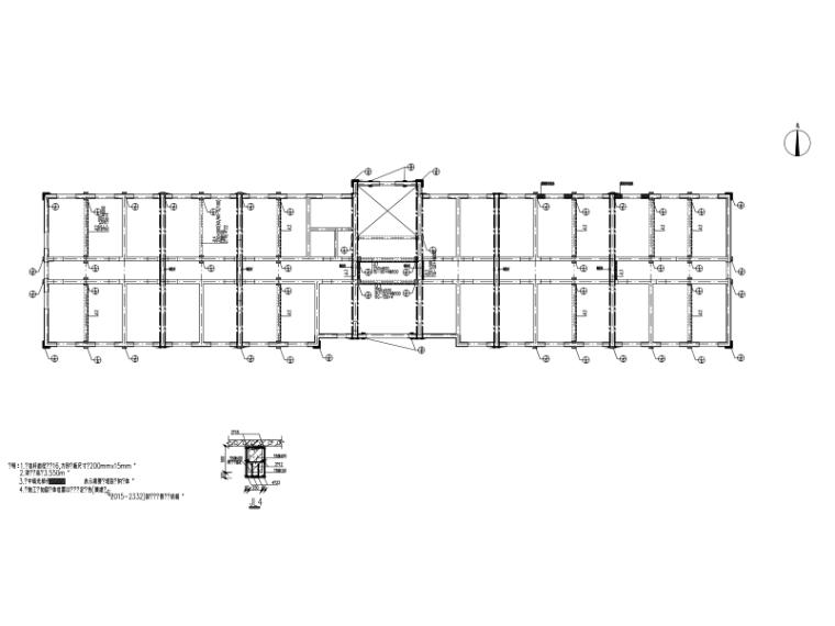 四层砌体业务楼加固改造施工图