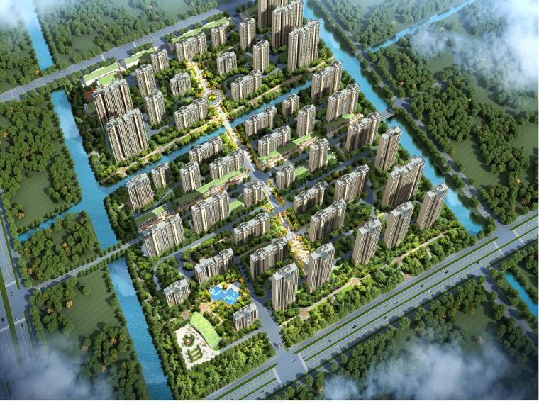 [阜阳]碧桂园混凝土框架结构商业建筑安全文明施工组织设计(90页)