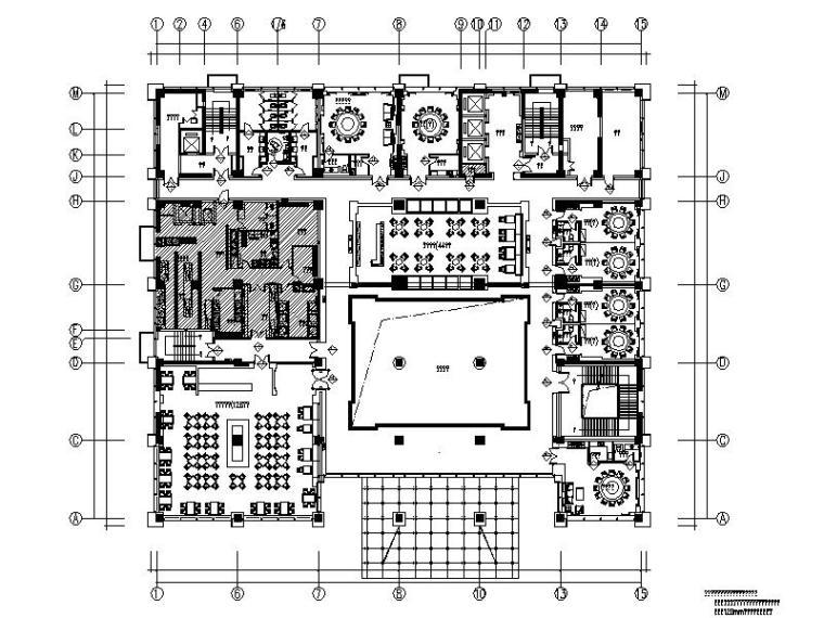 [新疆]某大型企业服务中心大楼室内设计施工图