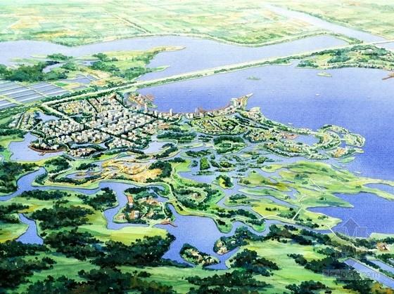 [天津]城市绿都湿地公园景观规划设计方案