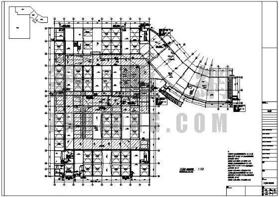 某地下机械停车库给排水消防施工图