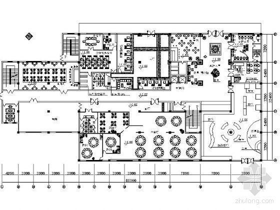 宾馆平面设计方案图