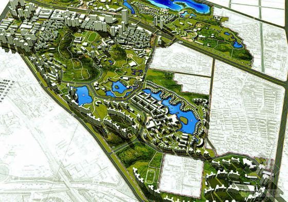 深圳住宅区景观设计方案