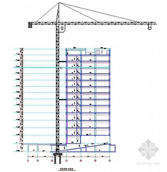 [天津]格栅高桩承台超高塔吊施工方案(Q6018)