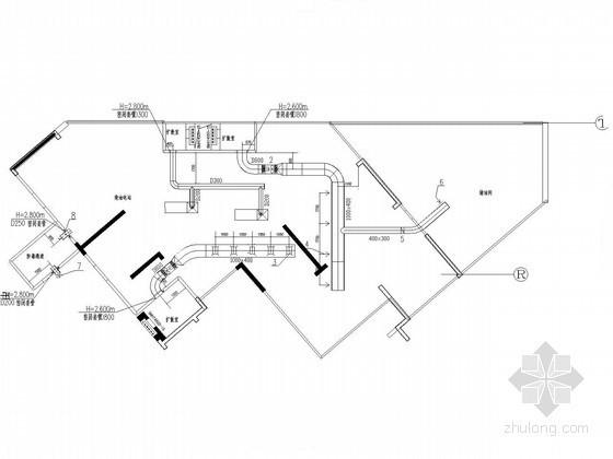 [湖南]高档住宅区地下室人防设计施工图