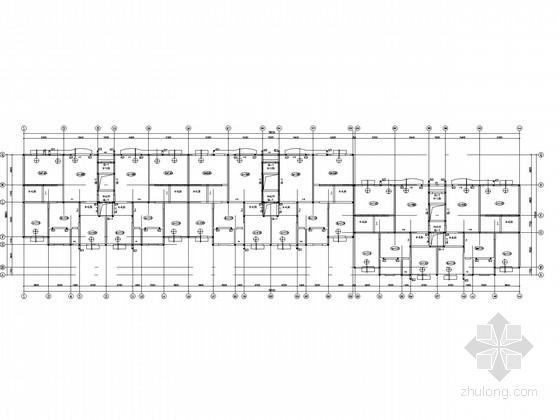 五层砌体住宅结构施工图