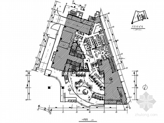 [福州]跨区域股份制商业金融机构室内装修施工图(含电气)