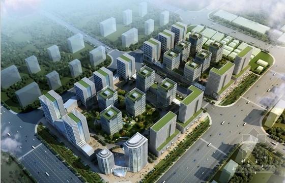 [河北]现代风格高层多功能办公楼建筑设计方案文本(含建筑模型)