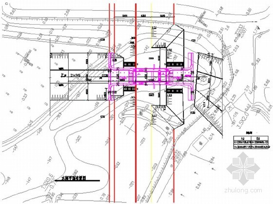 钢闸门施工图设计21张CAD(含楼梯 启闭机室)