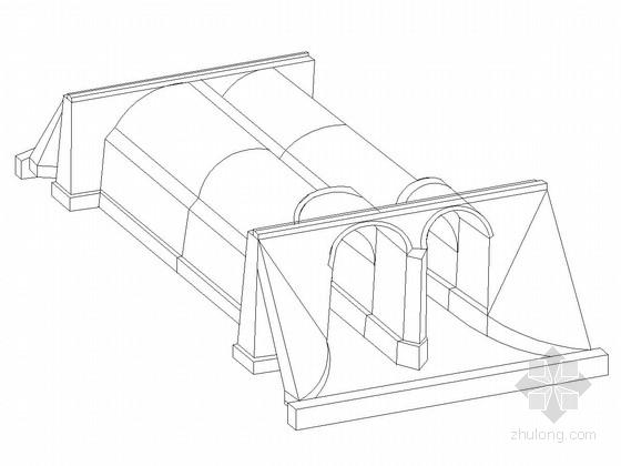 多孔径多样式石拱涵通用设计图(32张)