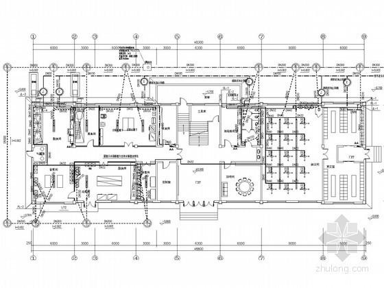 [辽宁]食堂给排水消防施工图(太阳能循环系统)