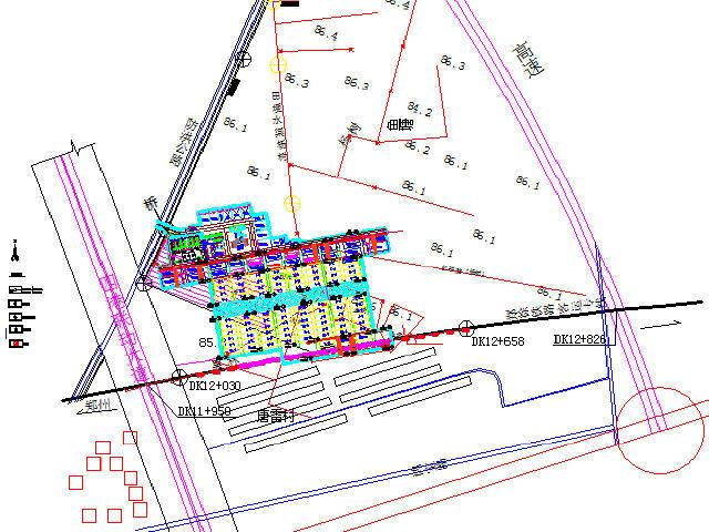 中铁制梁场工装设计图集CAD及结构检算培训资料(含勘察报告)