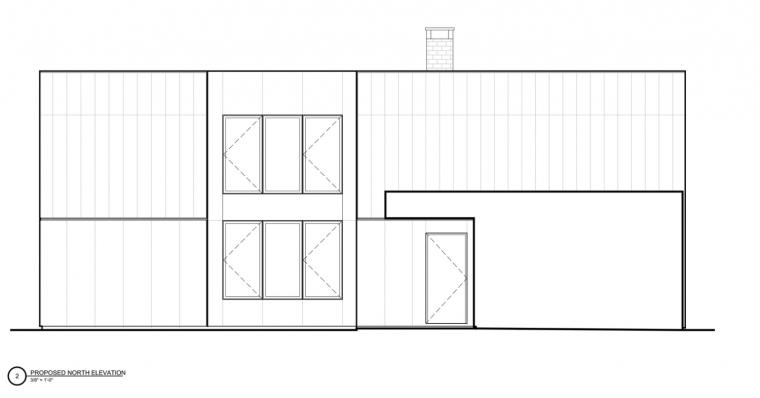美国新帕尔茨住宅-1 (15)立面图