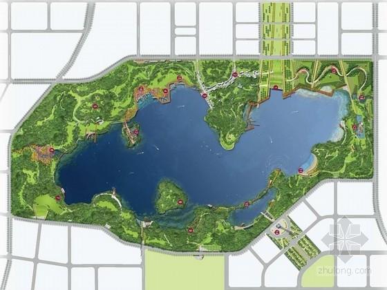 [山西]水岸休闲滨湖景区规划设计方案