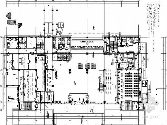 [苏州]行政商贸区一级甲等综合医院室内装修施工图