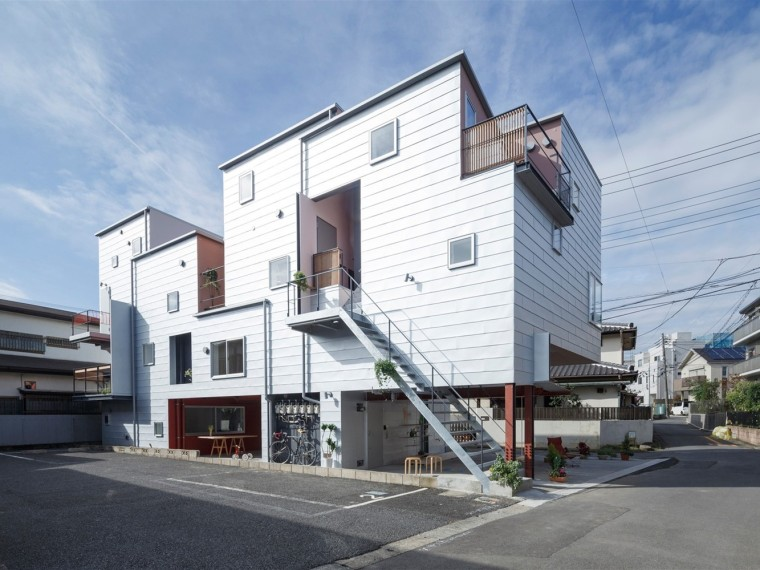 日本钢结构单元公寓