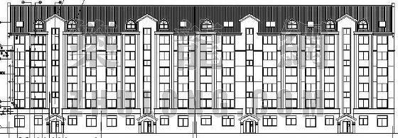 某坡屋顶住宅建筑施工图(全套)