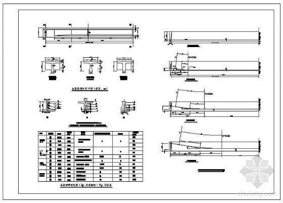 预应力混凝土T形梁配筋节点构造详图