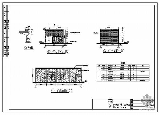 某餐饮服务中心锅炉房改造建筑结构图