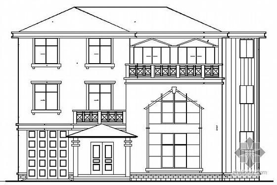 某三层别墅建筑结构施工图