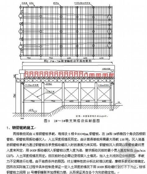 广东某超厚软土地基现浇混凝土箱梁支架搭设方案