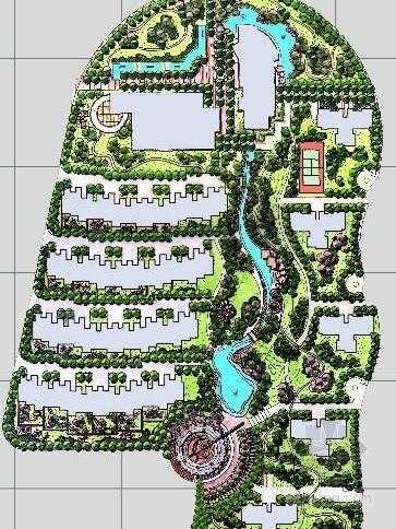 步行街景观设计规划方案