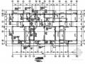 三层异形柱框架住宅楼结构施工图(四拼D型)