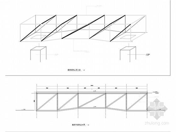 廊桥施工图设计