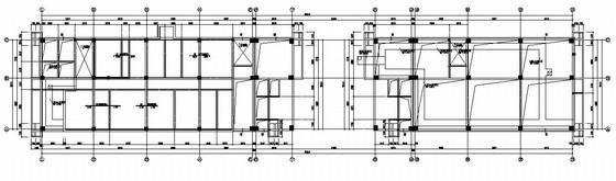 框架结构学校办公楼结构施工图(带消防水池)