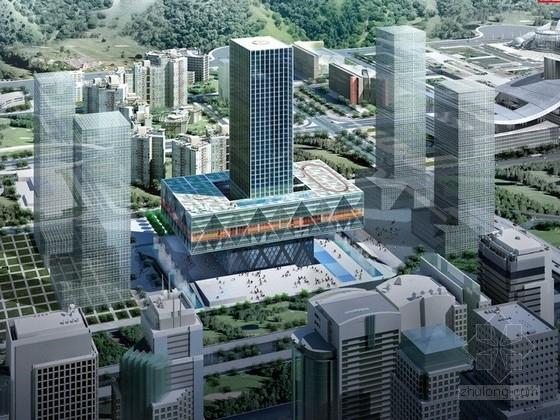 [深圳]45层超高层企业办公楼建筑方案文本(荷兰知名设计公司)