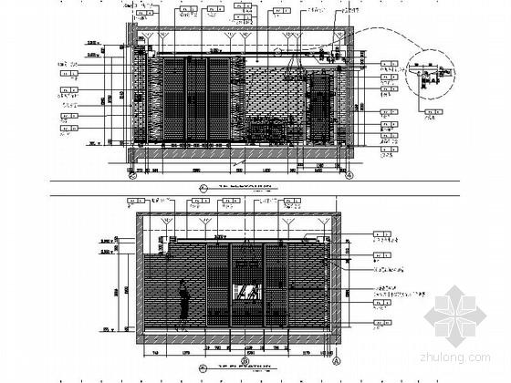 [原创]高档奢华三层别墅室内装修施工图(大门细自建别墅图纸图片