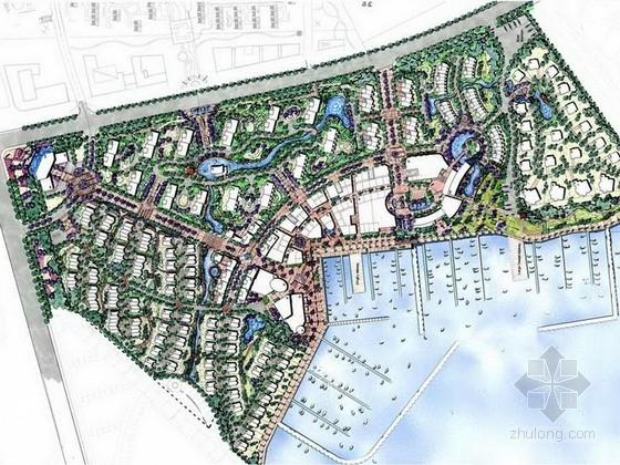 [青岛]综合滨水休闲区域景观设计方案