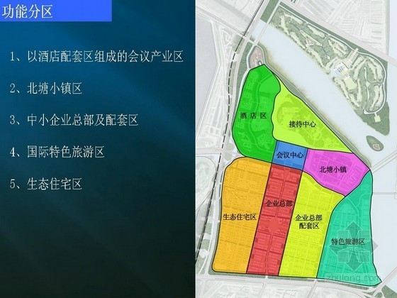 [天津]某经济开发区概念规划