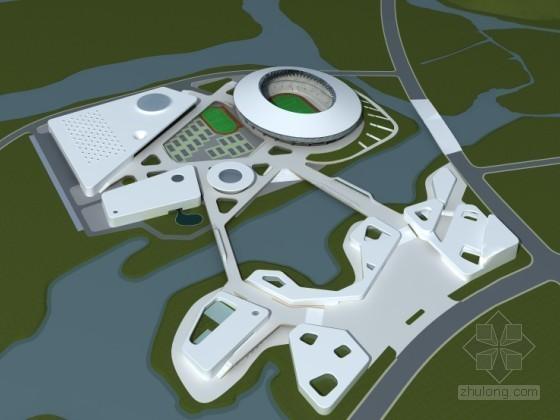 [浙江]某市体育公园建筑方案设计任务书(含CAD和模型)