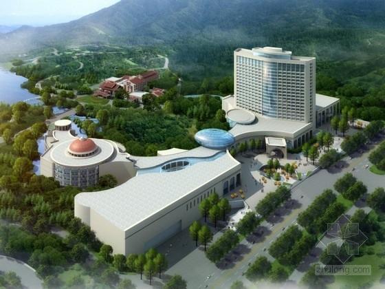 [福建]某十八层国际酒店建筑设计方案文本