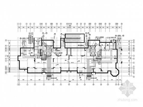 [开封]高层住宅给排水、雨水、消防及天然气系统施工图