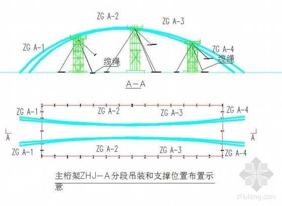 内蒙古某机场钢结构制作安装方案(空间管桁架 跨度205m 双曲筒壳)