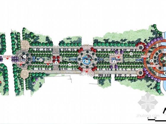 [苏州]某商业步行街景观设计方案