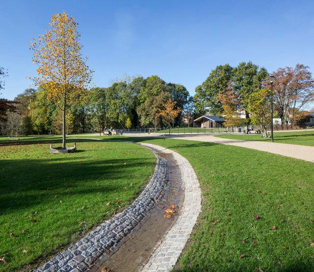 荷兰凯尔克拉德城市公园景观设计图片