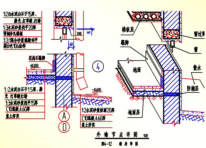 [造价入门]建筑施工图结构图识图(各种图示符号详解)