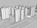某高层小区建筑单体模型设计