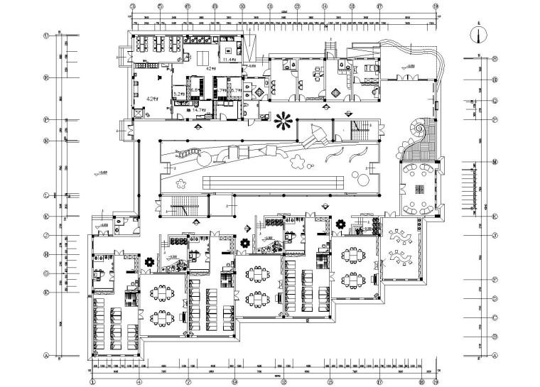 空间划分:成套图纸 空间类型:幼儿园 图纸深度:施工图 设计图片