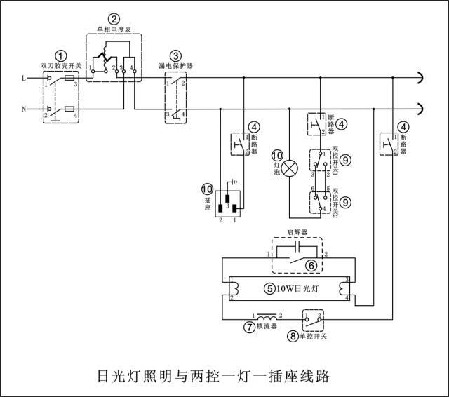 电工必懂的7张电路图,全看懂的给你点个赞!_1