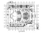 [安徽]某演艺吧不夜城CAD施工图(含效果图)